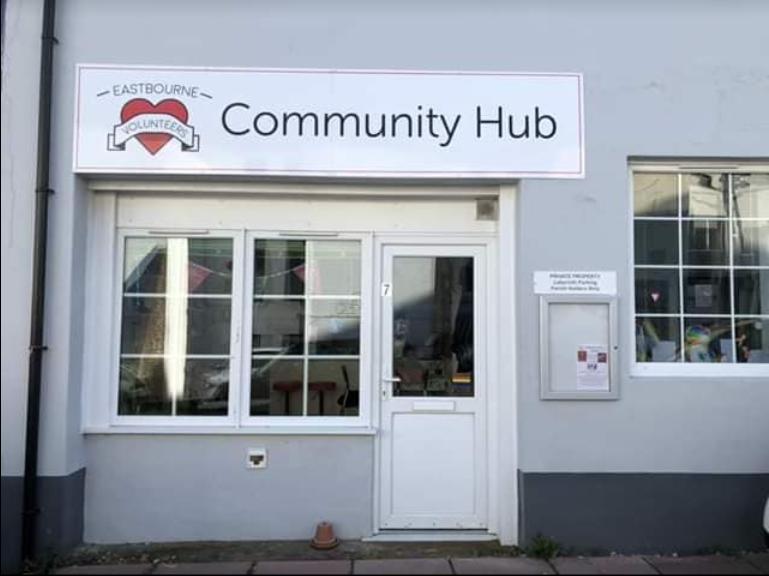 Exterior photo of the Eastbourne Community Hub