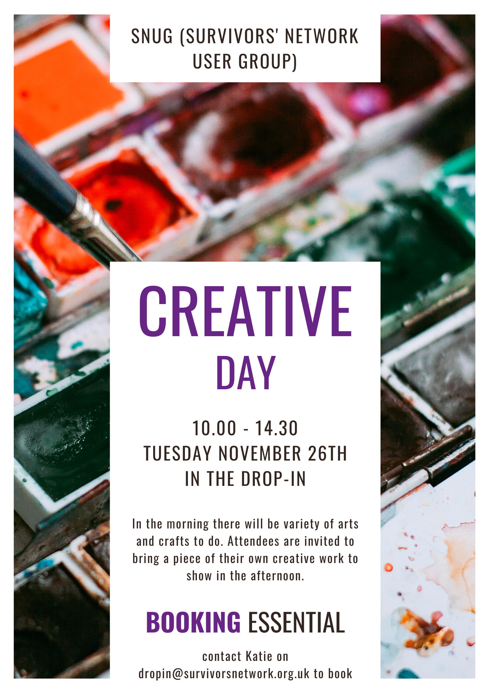 Sample image of the Creative Day poster