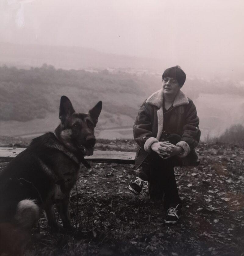 Kelle in 1993. copyright Lynne Fox.